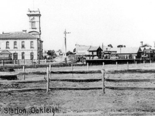 Oakleigh Railway Station Historic