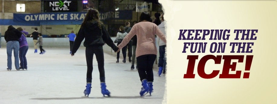 Olympic ice skating in oakleigh south - family fun