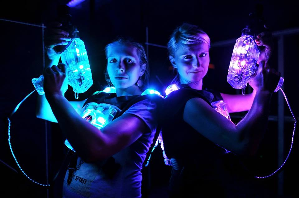 Sidetracked in Oakleigh offers Laserforce laser tag