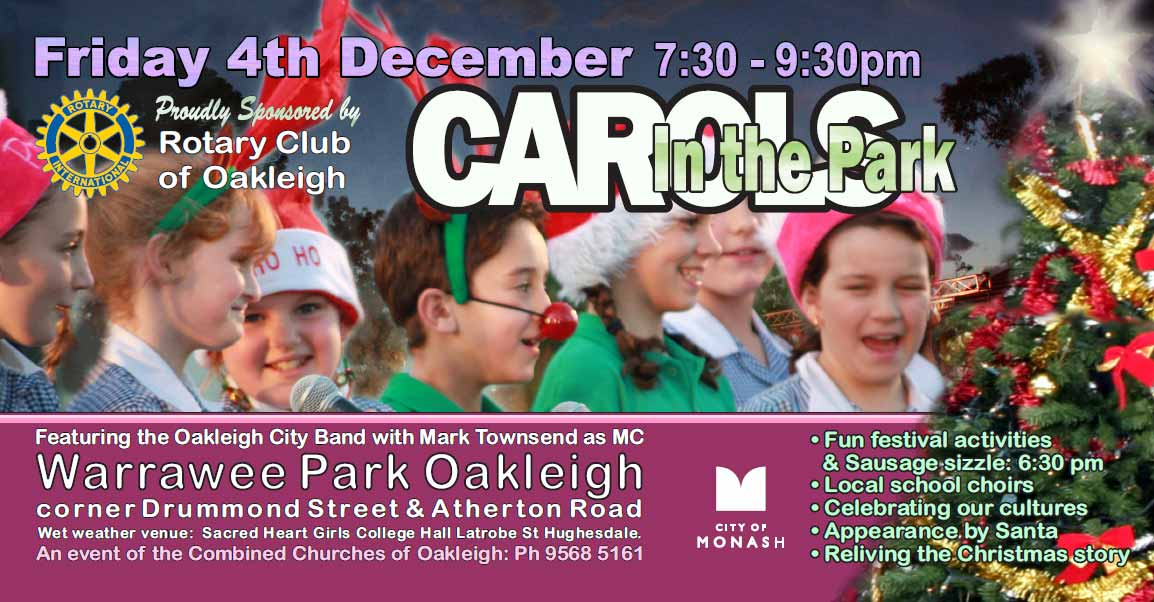 Warrawee Park - Carols in the Park