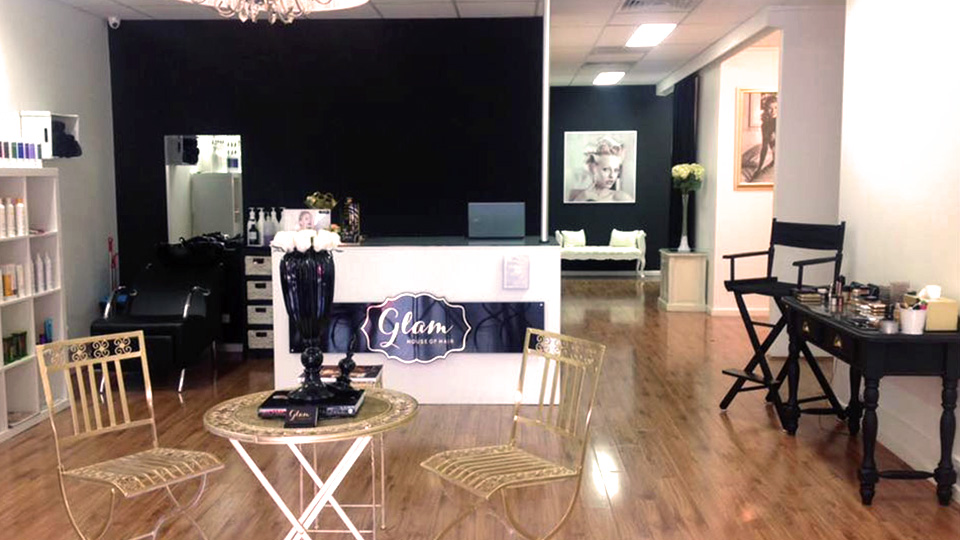 The Glam House of Hair in Oakleigh.