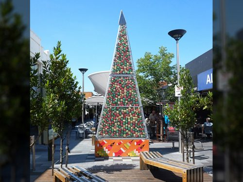 Signs of Christmas in Oakleigh