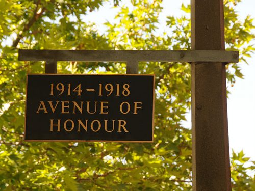 Drummond St has been dubbed Oakleigh's 'Avenue of Honour'
