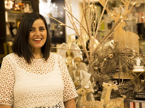 Bibelo co-owner Irene Karazisis.