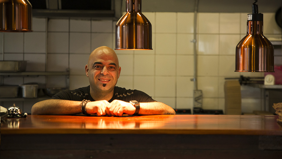 George Papageorgiou of Cypriot Street Grill in Oakleigh